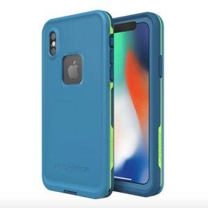Lifeproof FRĒ FOR iPHONE X CASE Banzai Color